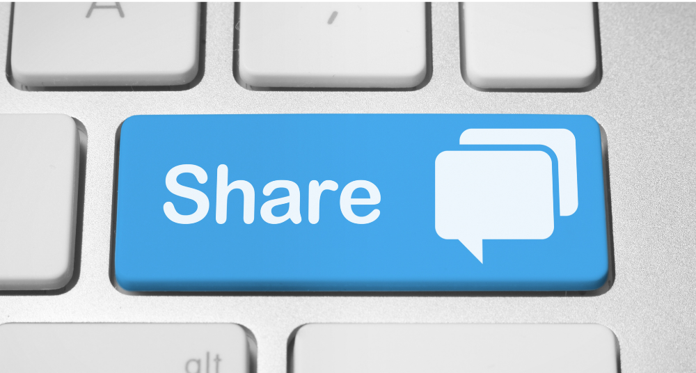 Sharing post and deals on social media platforms